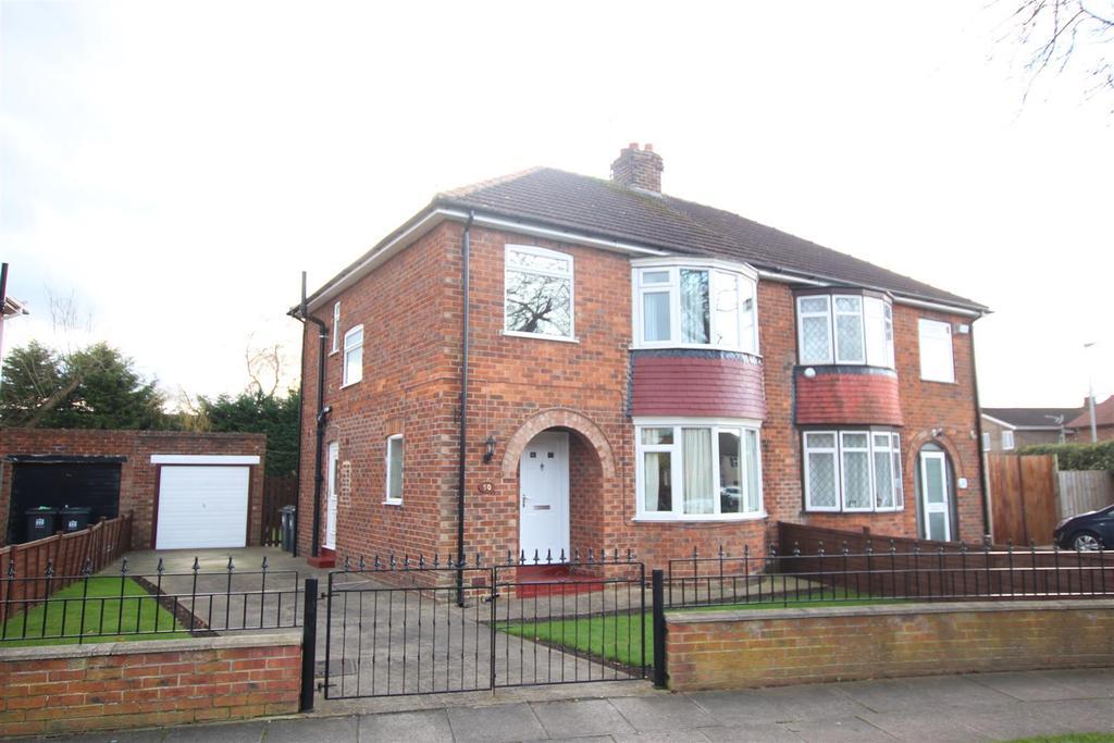 3 Bedrooms Semi Detached House for sale in Loraine Crescent, Darlington