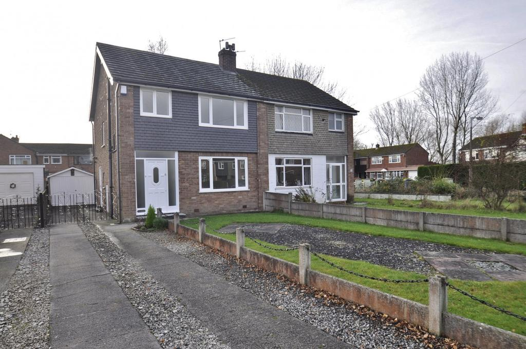 3 Bedrooms Semi Detached House for sale in Zurich Gardens, Bramhall