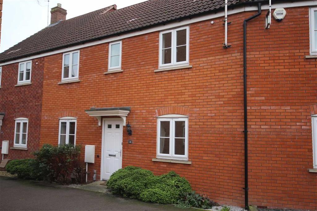3 Bedrooms Terraced House for sale in Woodpecker Walk, Walton Cardiff, Tewkesbury, Gloucestershire