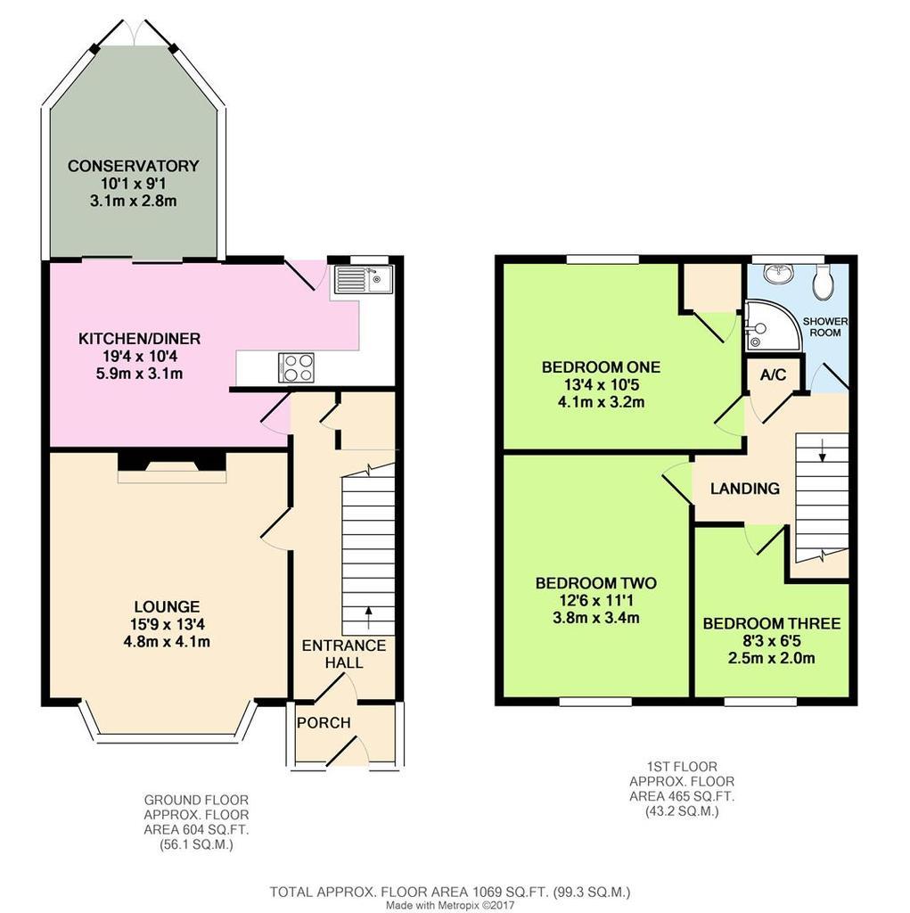 Lyndhurst road tilehurst reading 3 bed terraced house for Reading a floor plan