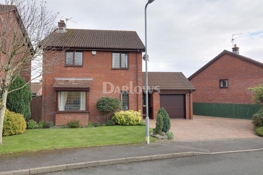 4 Bedrooms Detached House for sale in Brambling Drive, Thornhill, Cardiff, CF14