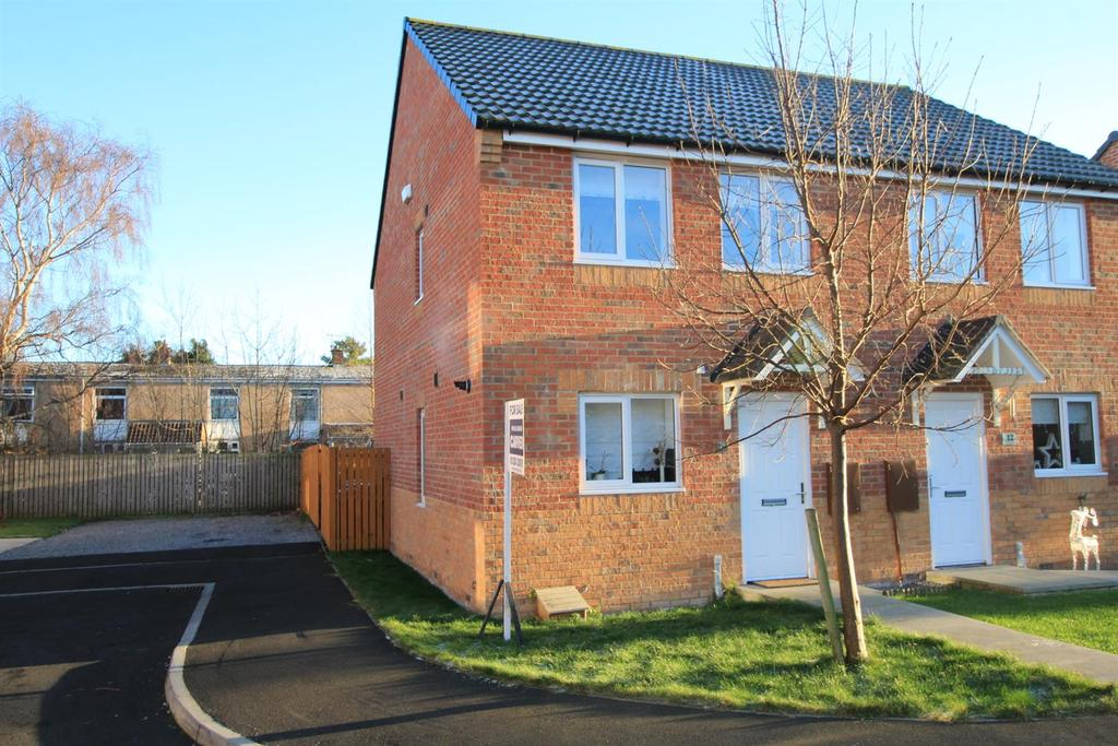 3 Bedrooms Semi Detached House for sale in Yacley Close, Newton Aycliffe