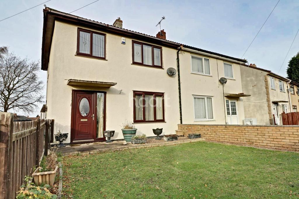 3 Bedrooms Semi Detached House for sale in Hazel Grove, Rossington, Doncaster