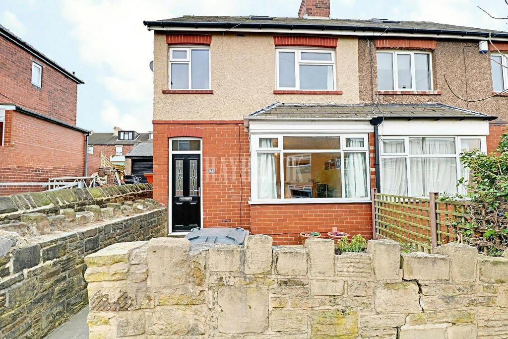 3 Bedrooms End Of Terrace House for sale in Toftwood Road, Crookes.