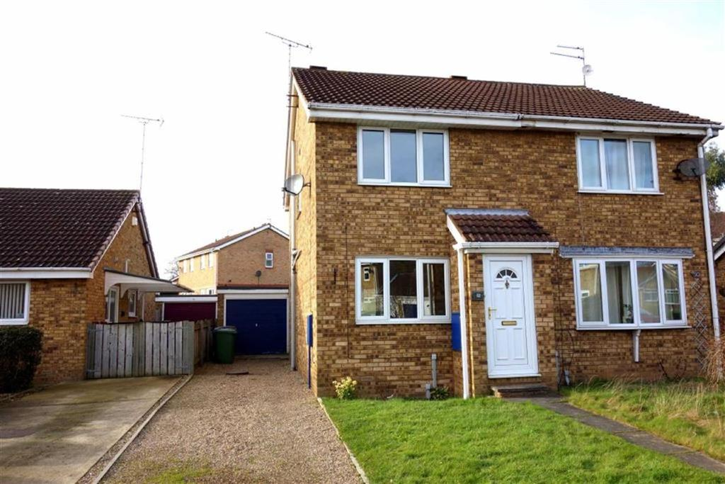 2 Bedrooms Semi Detached House for rent in Bracken Road, Driffield, East Yorkshire
