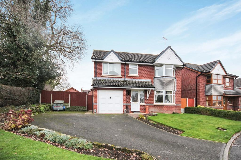4 Bedrooms Detached House for sale in Millbrook Way, Cheadle, Staffordshire