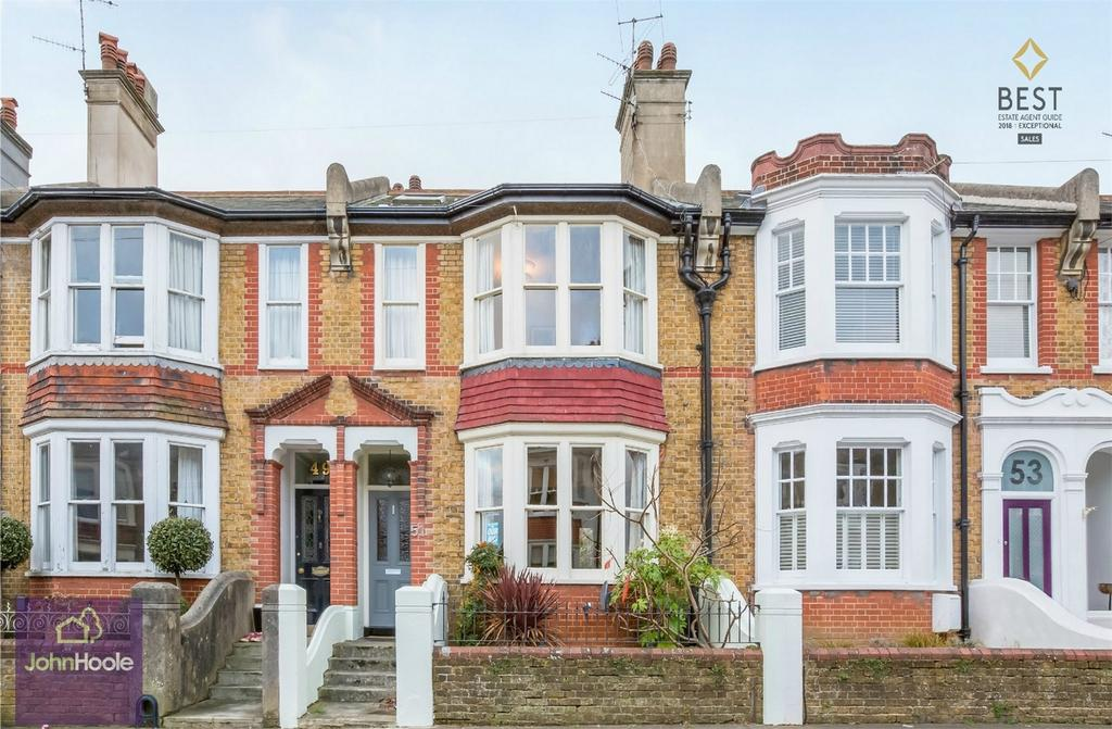 3 Bedrooms Terraced House for sale in Compton Road, Brighton, East Sussex