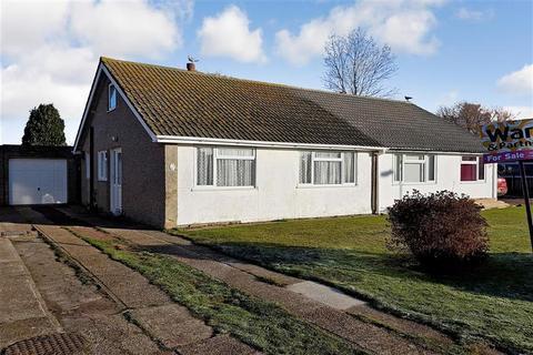 2 bedroom semi-detached bungalow for sale - Brockman Crescent, Dymchurch, Romney Marsh, Kent