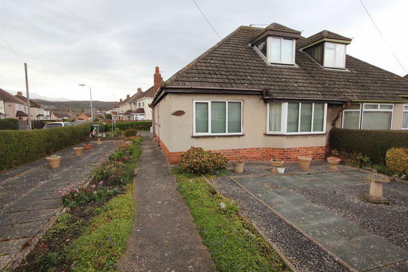 3 Bedrooms Semi Detached Bungalow for sale in Trewen, Denbigh