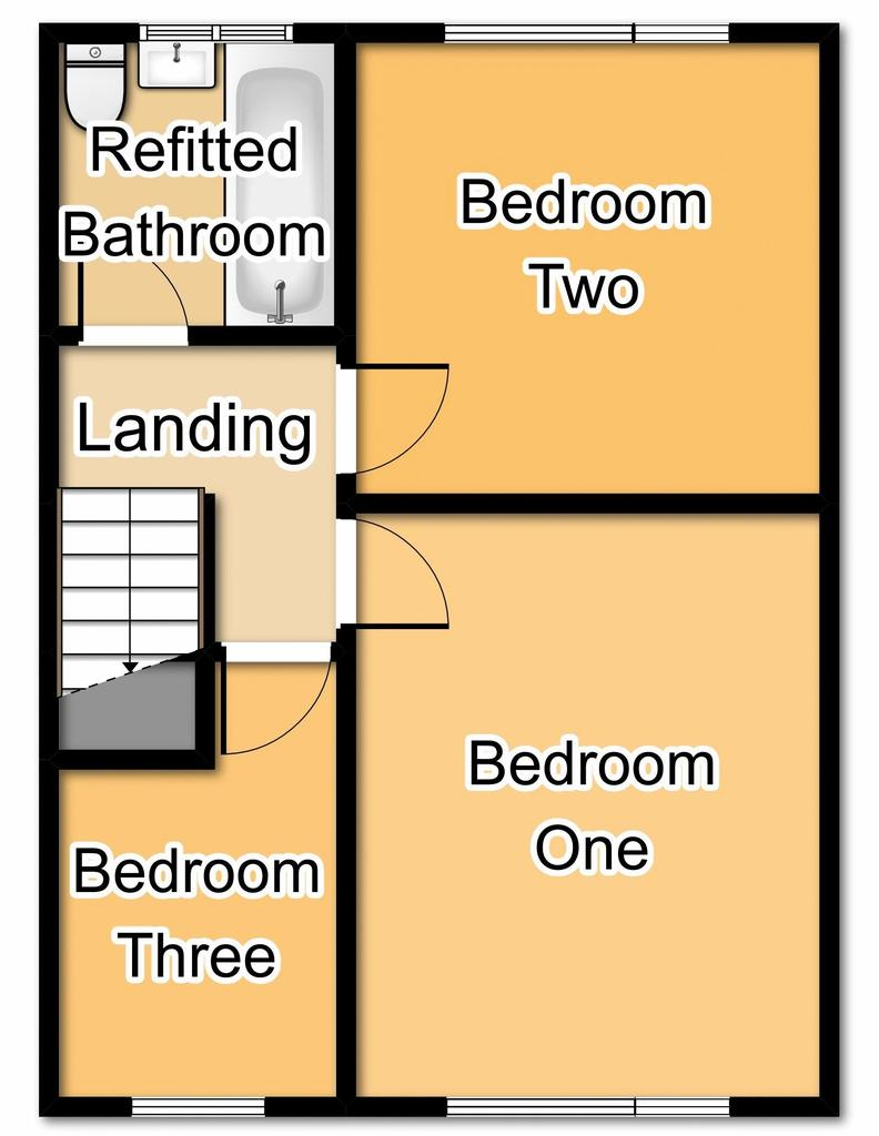 Floorplan 2 of 2: First Floor Plan