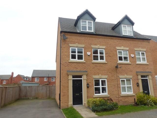 3 Bedrooms Semi Detached House for sale in Leven Road, Tamworth