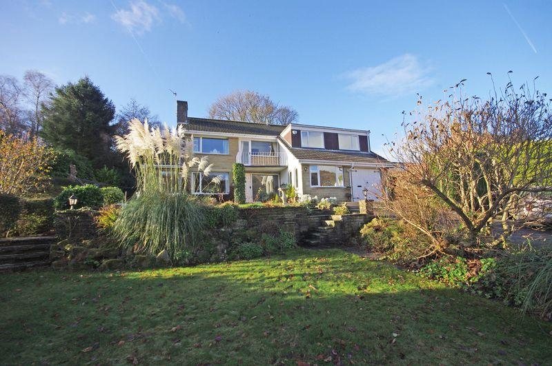 5 Bedrooms Detached House for sale in High Trees, Lower Park Royd Drive, Kebroyd