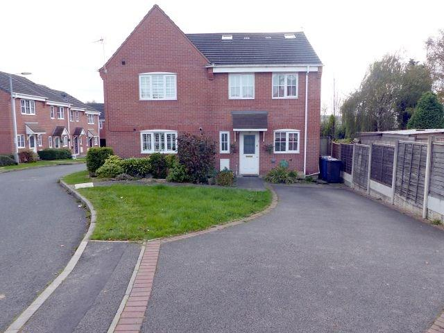 4 Bedrooms Semi Detached House for sale in New Plant Lane, Burntwood