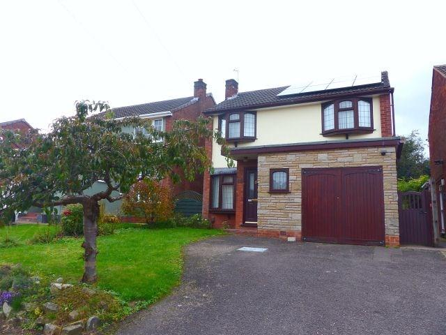 4 Bedrooms Detached House for sale in Garrick Rise, Burntwood