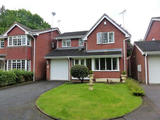 4 Bedrooms Detached House for sale in Macadam Close, Burntwood