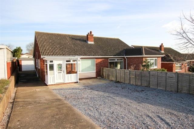 2 Bedrooms Semi Detached Bungalow for sale in Conway Road, Cannington , Bridgwater