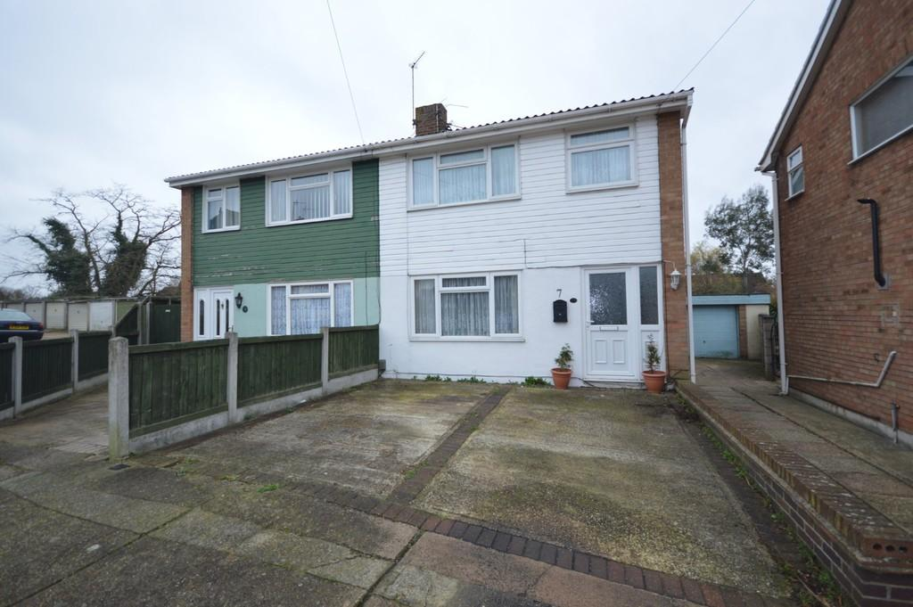 3 Bedrooms Semi Detached House for sale in Edison Gardens, Colchester