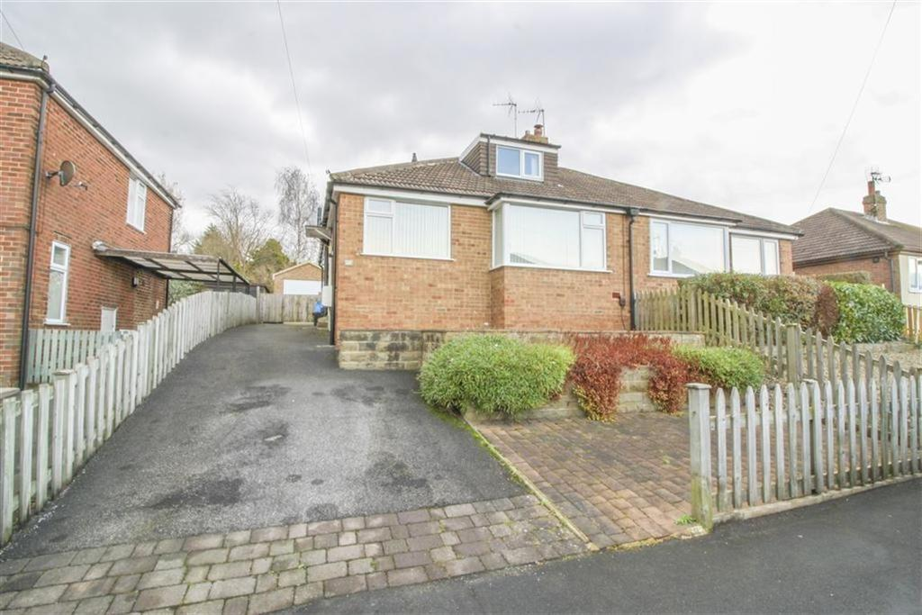 3 Bedrooms Semi Detached Bungalow for sale in Coppice Way, Harrogate, North Yorkshire