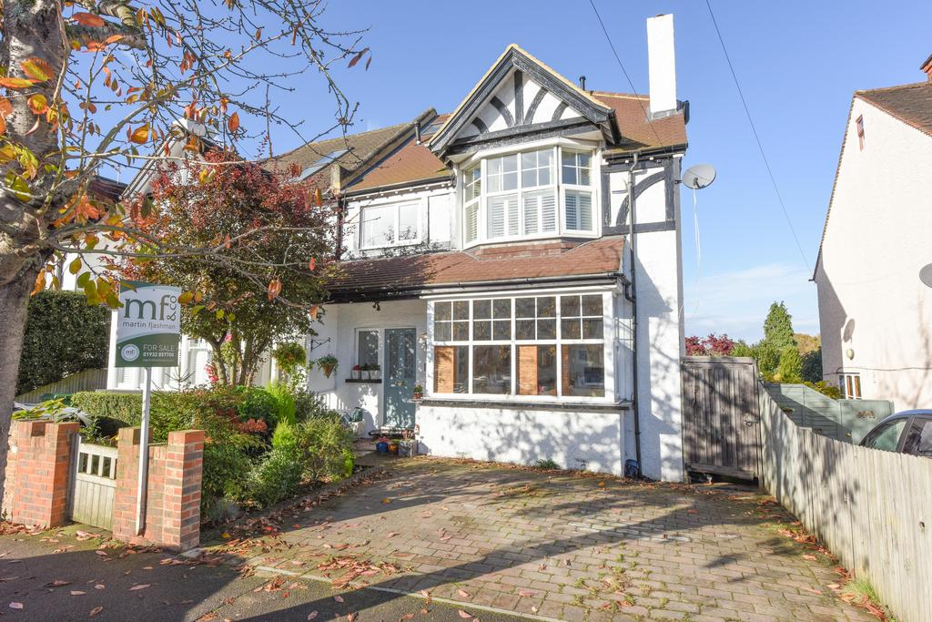 5 Bedrooms Semi Detached House for sale in Melrose Road, Weybridge KT13
