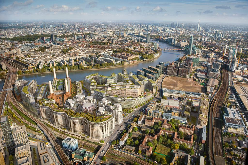 3 Bedrooms Apartment Flat for sale in Battersea Power Station