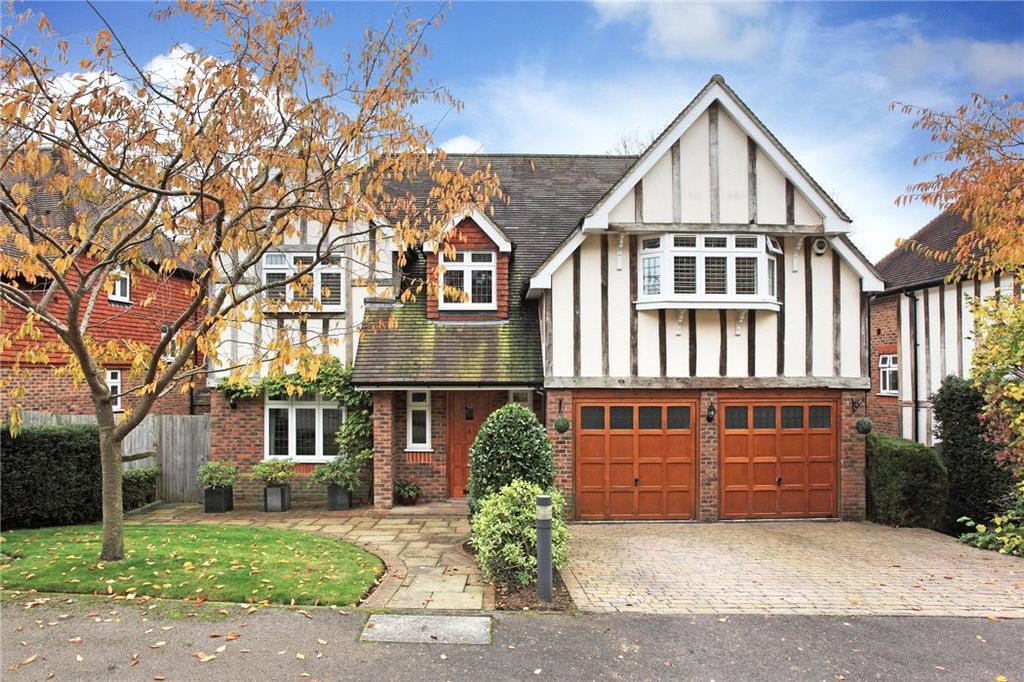 5 Bedrooms Detached House for sale in Whitebeam Close, Kemsing, Sevenoaks, Kent, TN15