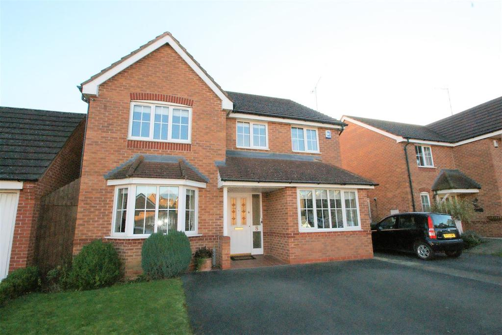 4 Bedrooms Detached House for sale in Aqua Place, Rugby