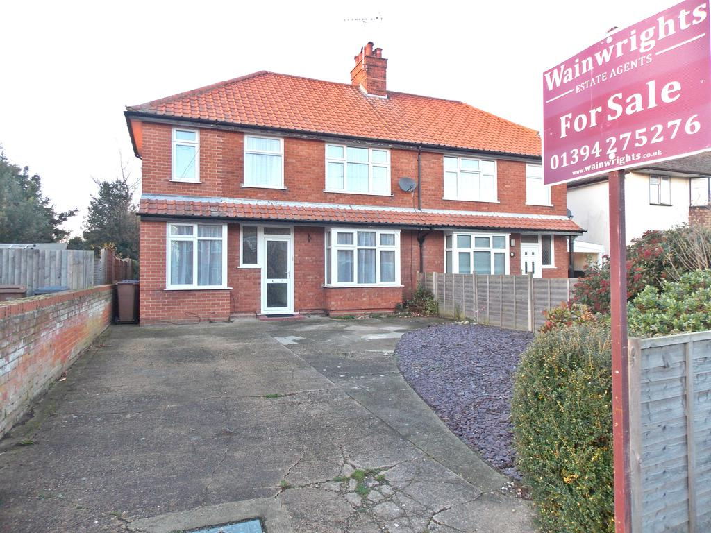 4 Bedrooms Semi Detached House for sale in Exeter Road, Felixstowe, IP11