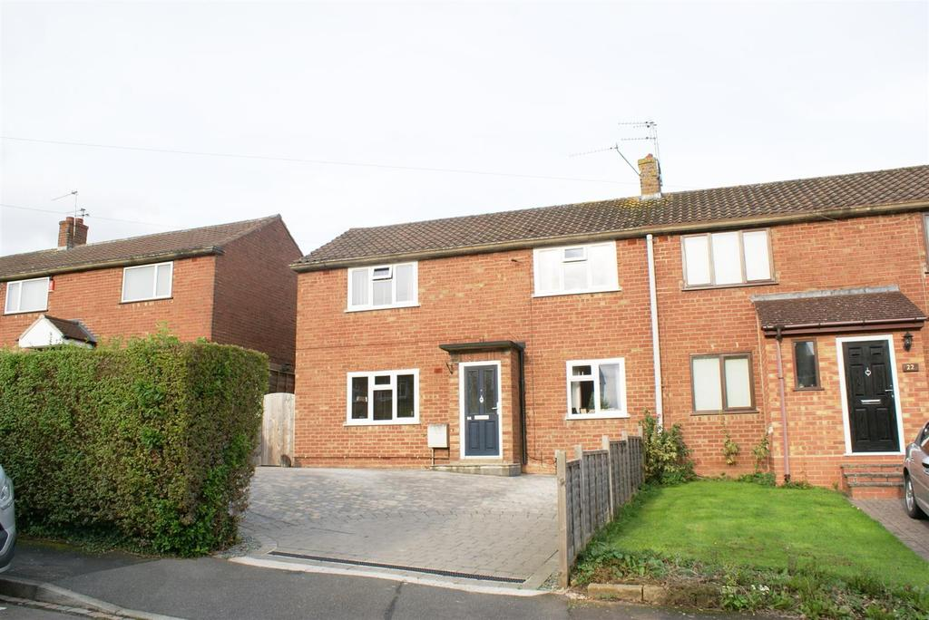 3 Bedrooms Semi Detached House for sale in Stonehouse Close, Cubbington, Leamington Spa