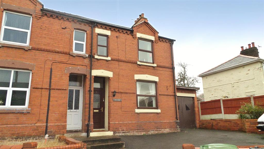 2 Bedrooms Semi Detached House for sale in New Road, Southsea, Wrexham
