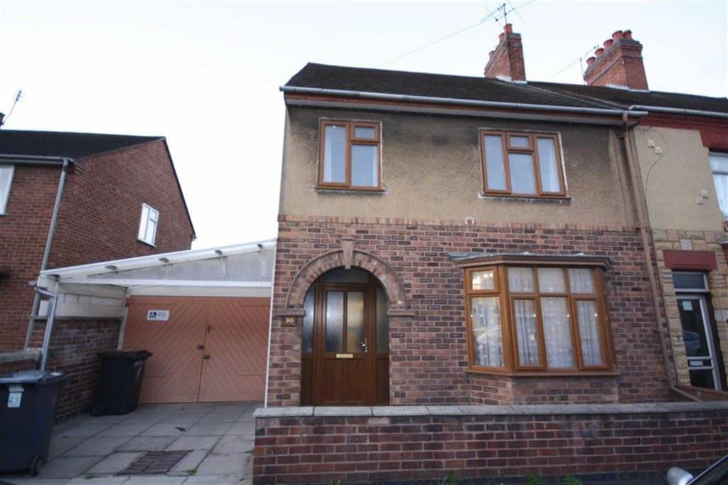 3 Bedrooms Semi Detached House for sale in Fitton Street, Nuneaton