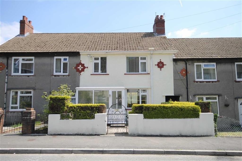 3 Bedrooms Terraced House for sale in Cilhaul, Treharris
