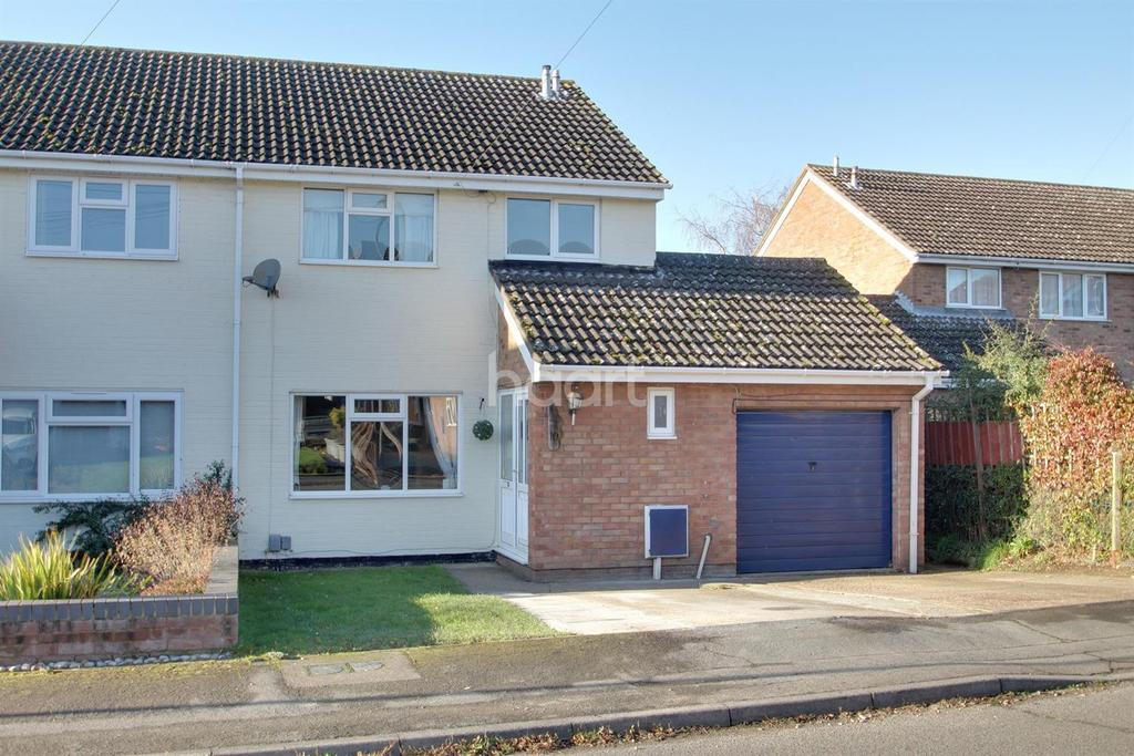 4 Bedrooms Semi Detached House for sale in Wyboston Court