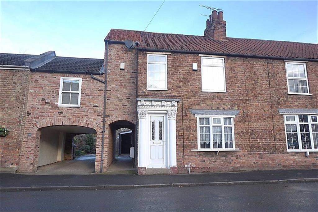 3 Bedrooms Terraced House for sale in Westgate, North Cave, North Cave, HU15
