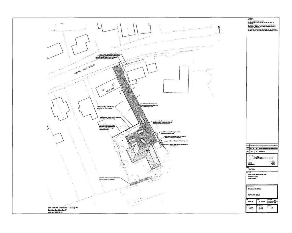 Plot Commercial for sale in Short Row, High Street, Partridge Green