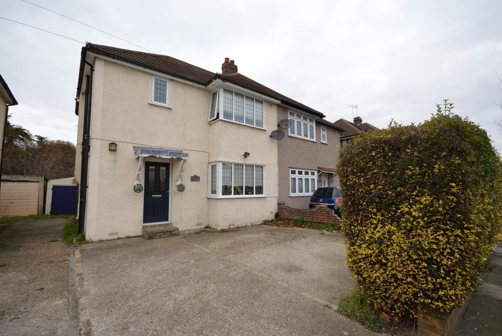 3 Bedrooms Semi Detached House for sale in South End Road, Hornchurch, Essex, RM12