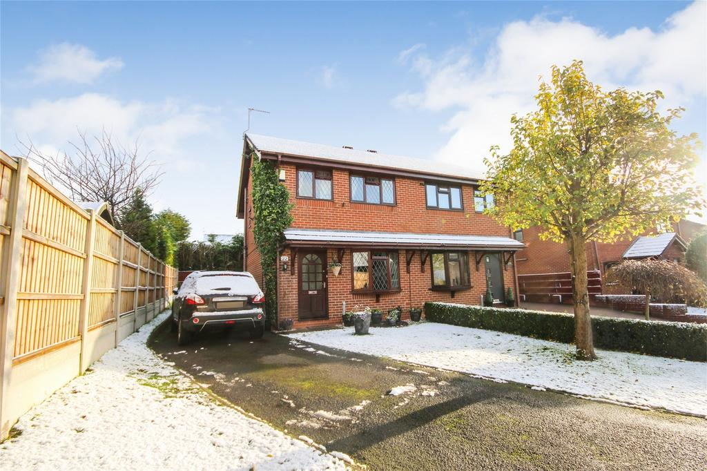 3 Bedrooms Semi Detached House for sale in Wordsworth Close, Cheadle, Staffordshire