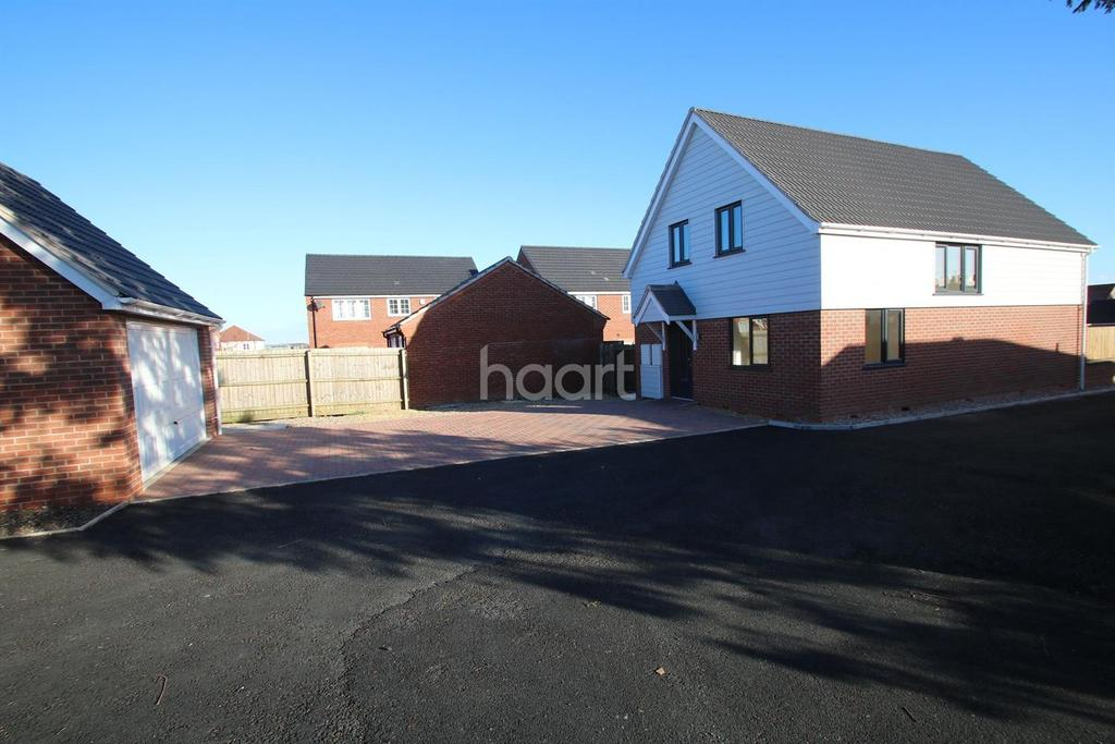 3 Bedrooms Detached House for sale in Fosse Close, Enderby, Leicester