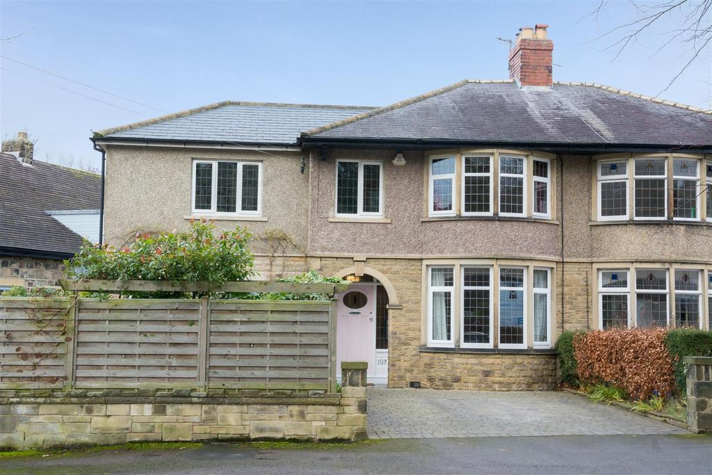 4 Bedrooms Semi Detached House for sale in West Busk Lane, Otley