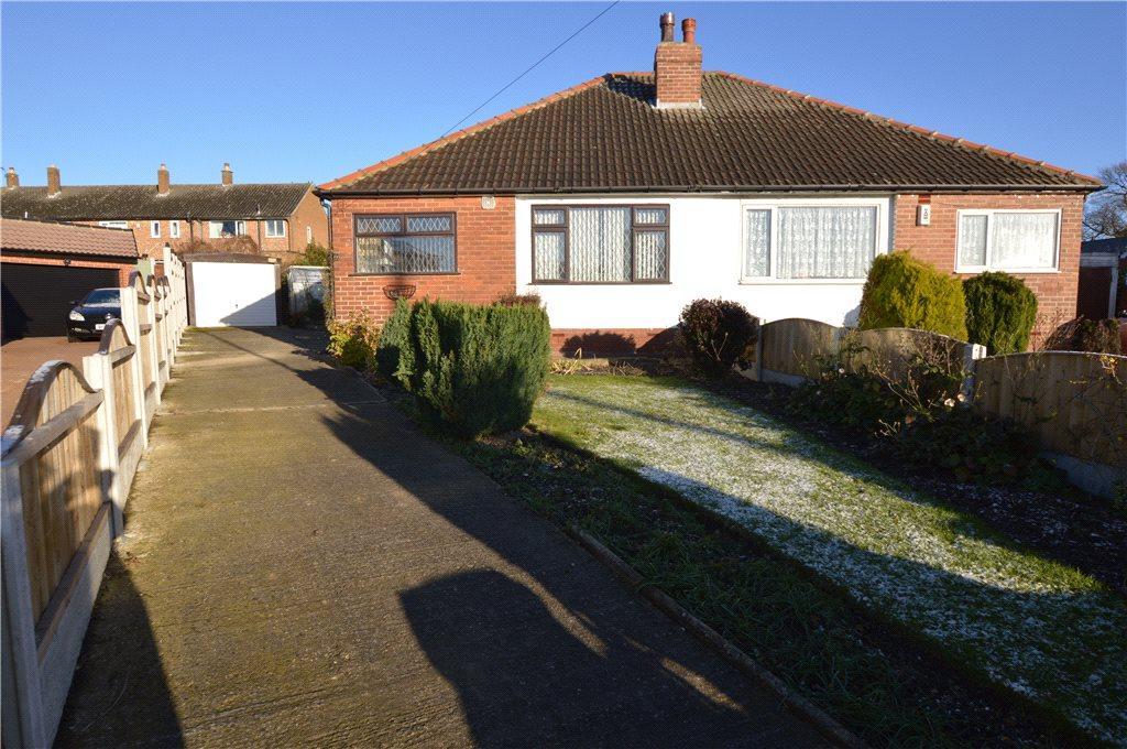 2 Bedrooms Semi Detached Bungalow for sale in Grange Court, Scholes, Leeds, West Yorkshire