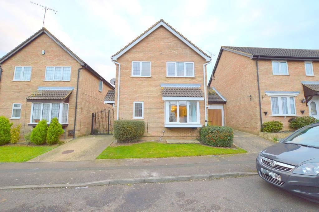 4 Bedrooms Detached House for sale in Fieldfare Green, Luton, LU4 0YA