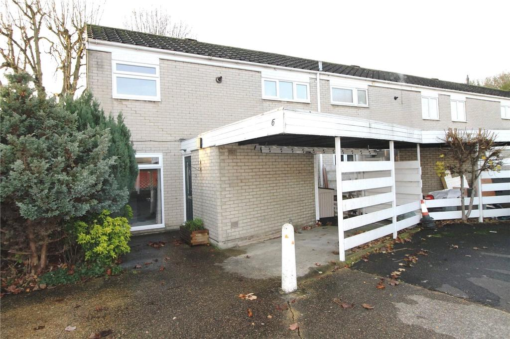 3 Bedrooms End Of Terrace House for sale in Becket Close, Great Warley, Brentwood, Essex, CM13