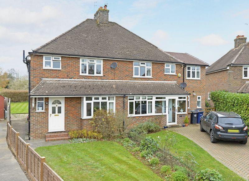 3 Bedrooms Semi Detached House for sale in Meadow Close, Godalming