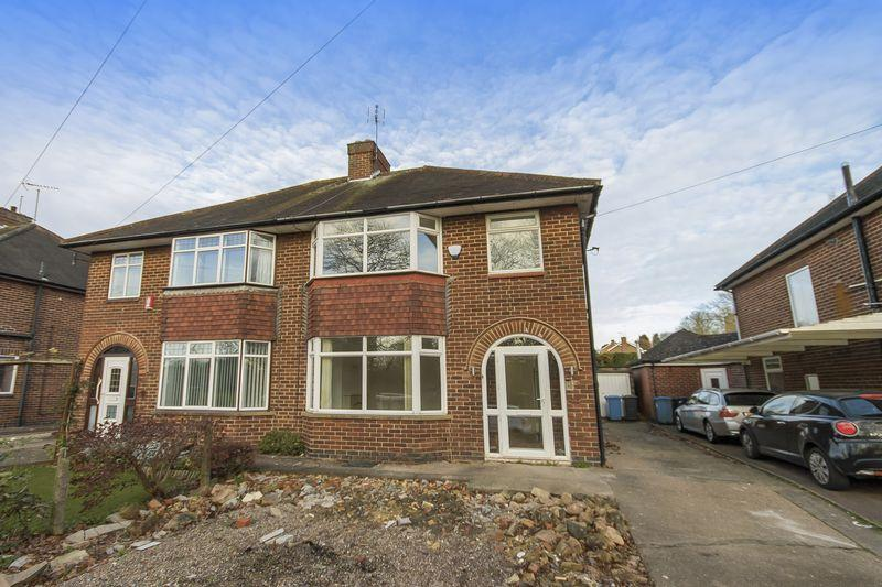3 Bedrooms Semi Detached House for sale in Kedleston Road, Derby