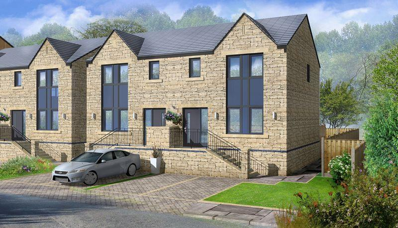 3 Bedrooms Semi Detached House for sale in Plot 10, Ripponden Vale, Mill Fold, Sowerby Bridge