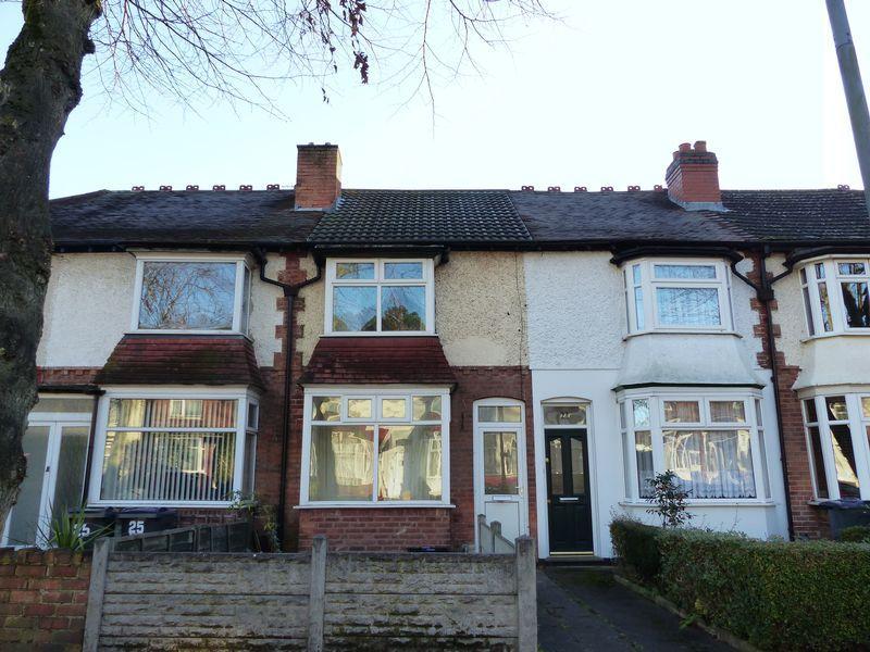 3 Bedrooms Terraced House for sale in Milverton Road, Erdington, Birmingham