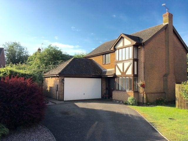 4 Bedrooms Detached House for sale in Blakeways Close,Edingale