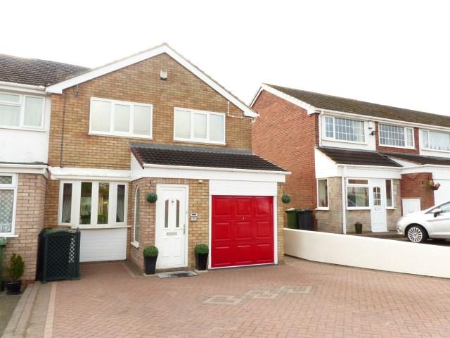 3 Bedrooms Semi Detached House for sale in Laurel Drive, Streetly