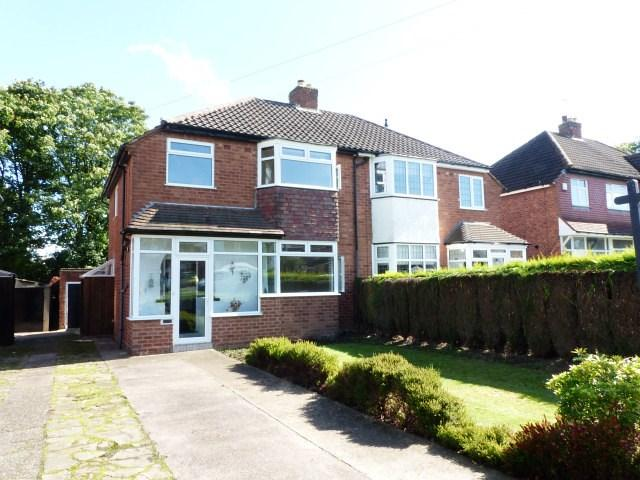 3 Bedrooms Semi Detached House for sale in Coniston Road, Streetly