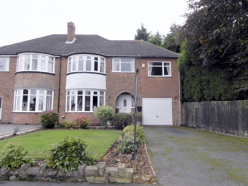 4 Bedrooms Semi Detached House for sale in Bedford Drive, Sutton Coldfield