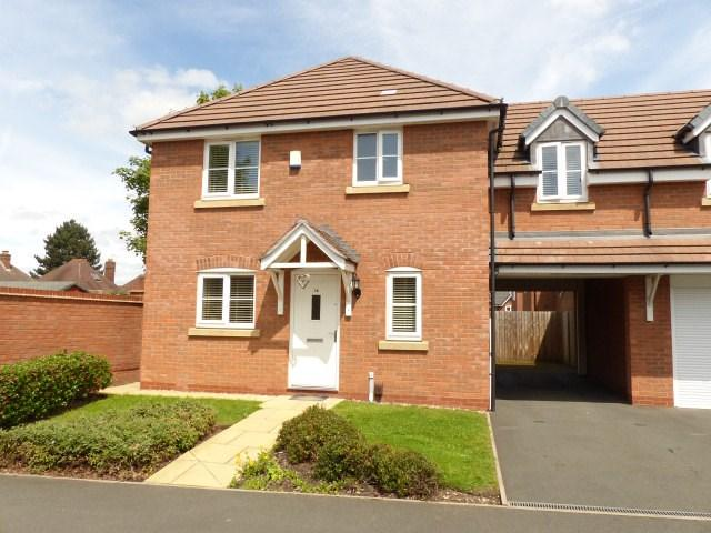 4 Bedrooms Semi Detached House for sale in Redmires Close, Rushall
